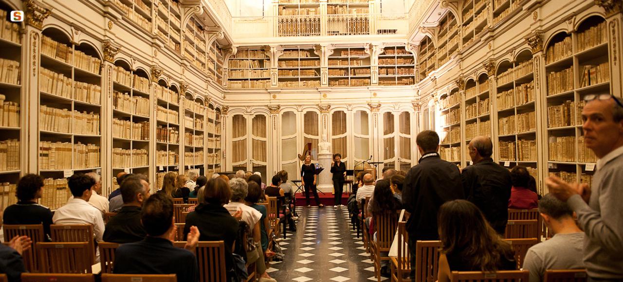 Biblioteca Universitaria di Cagliari - Sala Settecentesca
