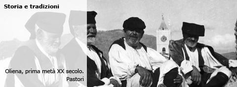 Oliena, prima metà XX secolo. Pastori